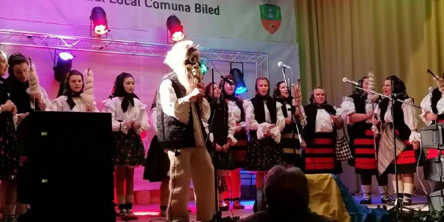 """""""Rădăcini (și colinde) străbune"""", duse din Maramureș în Timiș"""