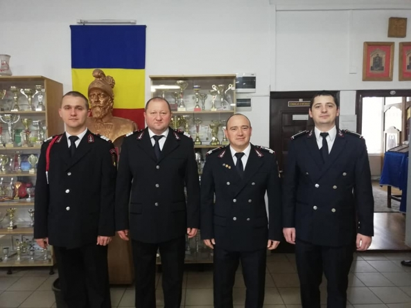 Avansări în grad la ISU Maramureș