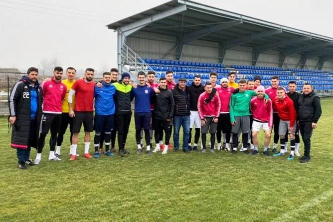 ACS FC Recea s-a reunit cu trei jucători noi în lot