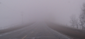 Ceață în zona Seini