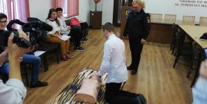 Cel mai tânăr voluntar SMURD din Maramureș are 16 ani
