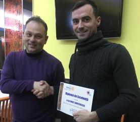 """Excelența """"pompierului salvator și în timpul liber"""", recunoscută și de Club Rotary Baia Mare 2005"""