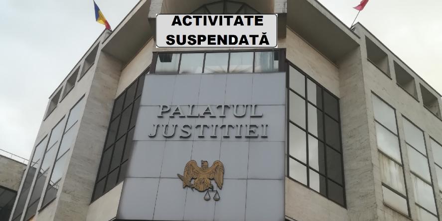 Activitatea Judecătoriei Baia Mare a fost suspendată pe termen nedeterminat