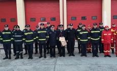 După 26 de ani în rândul pompierilor, plt. adj. șef Dumitru Vepreciuc a trecut în rezervă