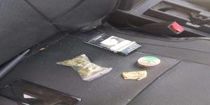 Marijuana decoperită în mașina unui tânăr maramureșean