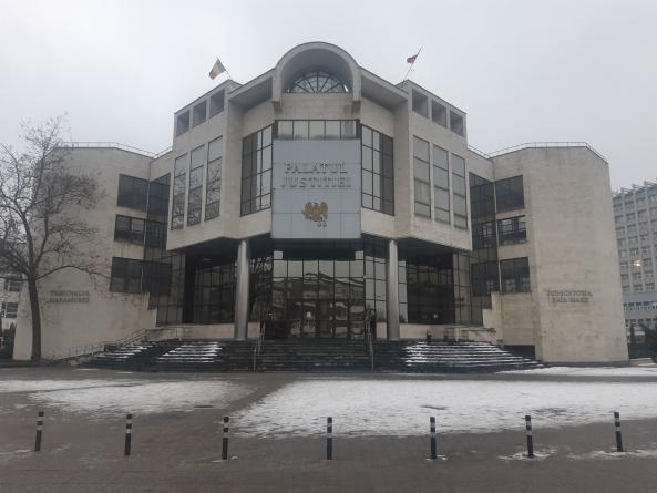 Planuri pentru extinderea Palatului Justiției