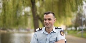 Un pompier maramureșean, salvator și în timpul liber