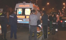 Pieton băut lovit de un șofer fugar