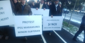 Protest cu repetiție al pensionarilor nemulțumiți de la IPEG Maramureș