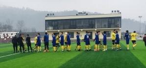 Victorie la scor pentru ACS FC Recea, în primul amical al iernii