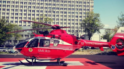 Sigheteancă în stare gravă, adusă cu elicopterul SMURD în Baia Mare