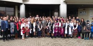 """Copii și tineri din 21 de județe au participat la Proiectul educațional """"Vis de iarnă"""" (GALERIE FOTO)"""