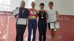 Ploaie de medalii pentru atleții veterani maramureșeni, la Campionatul Național de Sală