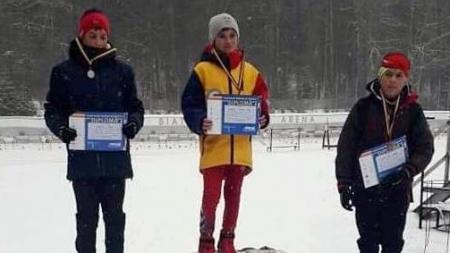 Juniorii de la CSȘ Baia Sprie – medaliați la naționalele de schi fond și biatlon