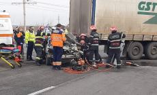 Două zile negre pe șosele, cu morți și răniți în accidente