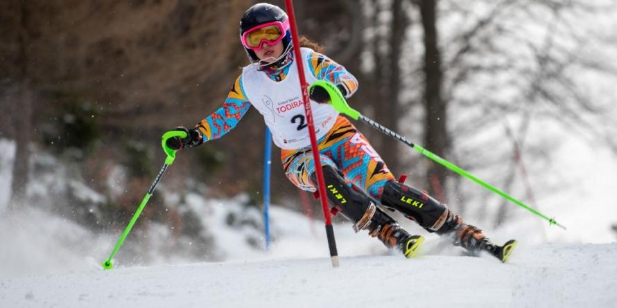 Maramureșeanca  Jennifer Nagy Remetean a adus naționalei României două medalii de aur la schi alpin