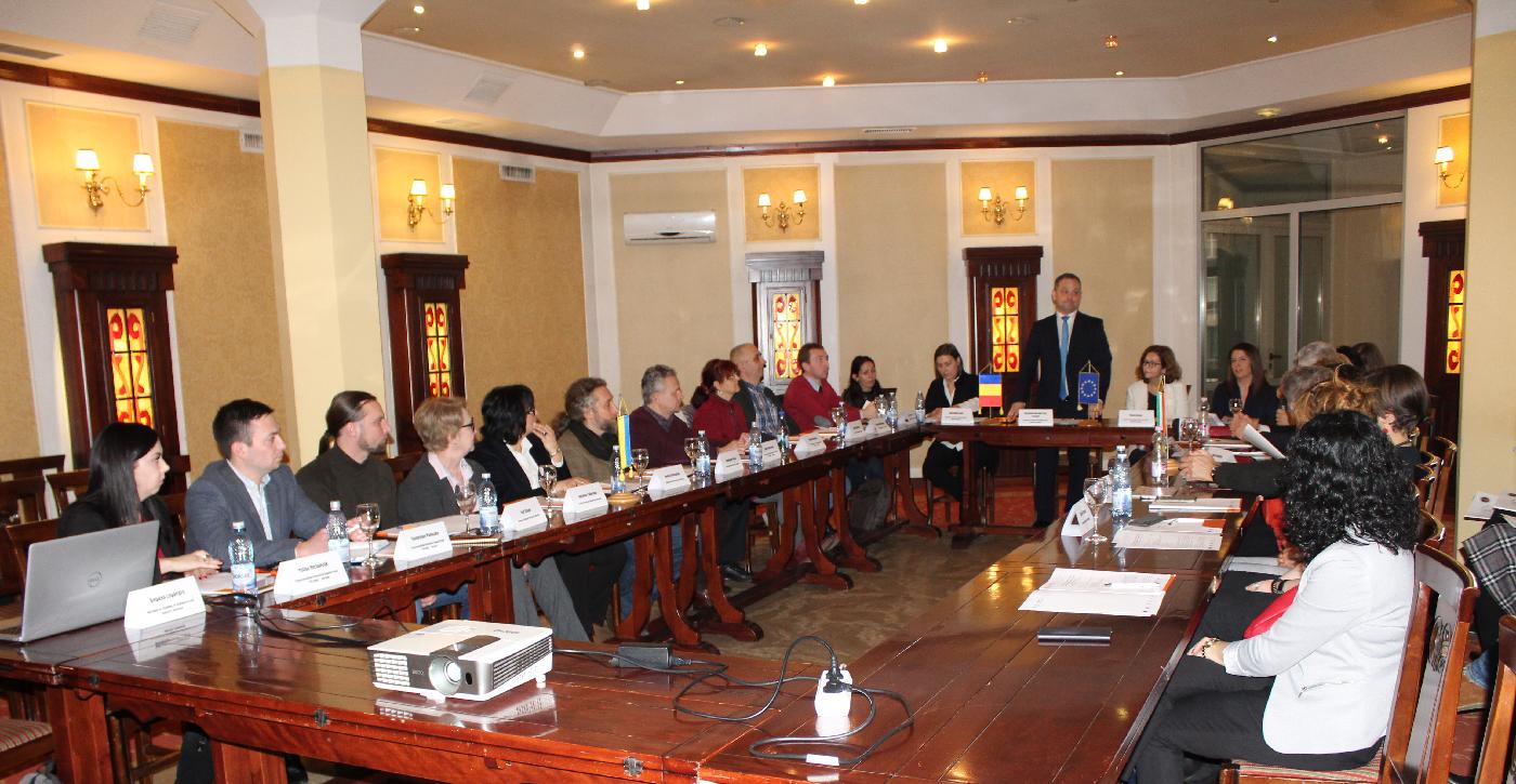 """COMUNICAT DE PRESĂ. Lansarea oficială a proiectului """"KRA'GAS – Promovarea meșteșugurilor și a gastronomiei, ca părți relevante ale patrimoniului cultural al Euroregiunii Carpatica"""""""