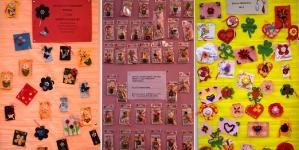 Expoziție de mărțișoare la Sighet, în scop caritabil