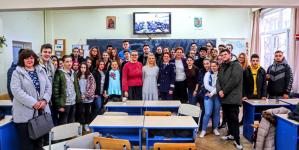 """Promovarea profesiei de polițist în """"Școala Altfel"""""""