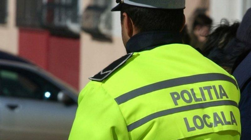 Polițist local lovit în față de un scandalagiu