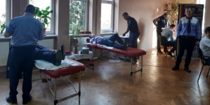 41 de polițiști maramureșeni au donat sânge