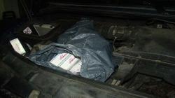 Amendat cu 6.000 de lei, pentru că avea ascunse în mașină țigări de 1.452 de lei