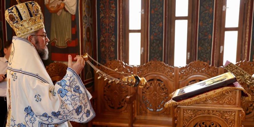 Praznicul Bunei Vestiri la Paraclisul Episcopal (GALERIE FOTO)