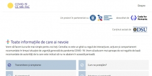 A fost lansată platforma cemafac.ro, un ghid cu recomandări pentru populație în funcție de scenariile posibile
