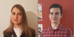 """Doi elevi de la """"Șincai"""" au obținut marile premii la două concursuri internaționale de limba germană"""