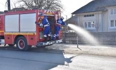 Acțiune de dezinfecție în comuna Fărcașa