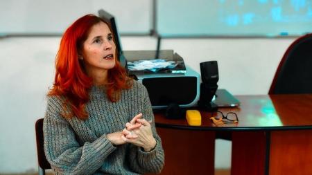 """Tatiana Cauni, profesor de limba și literatura română: """"Trebuie să avem răbdare și încredere, iar cei în prag de examene să nu se lase dominați de sentimentul că nu va fi bine"""""""