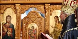 Liturghia Darurilor înainte Sfințite la Paraclisul Episcopal (GALERIE FOTO)